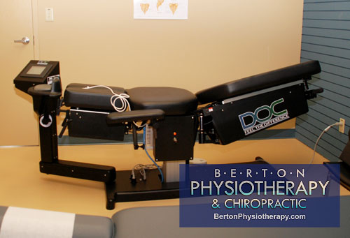 Spinal Decompression System by Eurotech