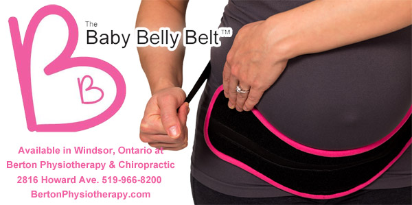 The Baby Belly Belt