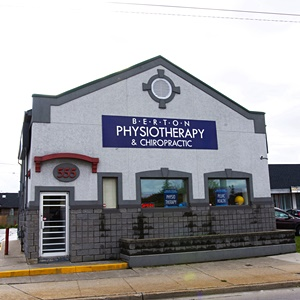 Berton Physiotherapy Clinic in Windsor, Street View Tecumseh Rd. and Howard Ave.