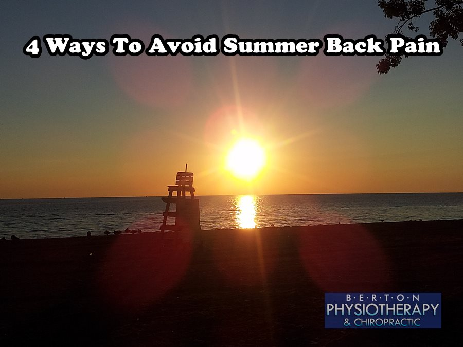 back pain how to avoid